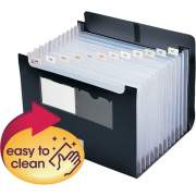 Smead Poly Self-Standing Top/Bottom Expanding File (70845)