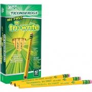 Ticonderoga Tri-Write Beginner No. 2 Pencils (13082)