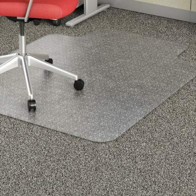 Lorell Low Pile Wide Lip Economy Chairmat (02157)