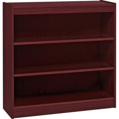 Lorell Panel End Hardwood Veneer Bookcase (60071)