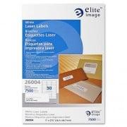 Elite Image White Mailing/Address Laser Labels (26004)