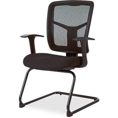 Lorell ErgoMesh Series Mesh Side Arm Guest Chair (86202)