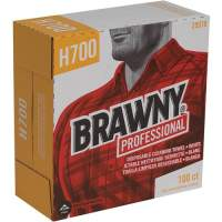 Brawny Professional H700 Disposable Cleaning Towels by GP Pro in Tall Box (25070)