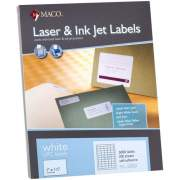 MACO Laser/Ink Jet White UPC Labels (ML5000)