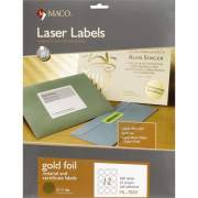 MACO Laser Gold Foil Notarial & Certificate Labels (ML7850)