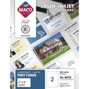 MACO Micro-perforated Laser/Ink Jet Post Cards (ML8575)