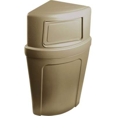 Continental 8325 Corner Round Receptacle (8325BE)