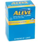 Aleve Pain Reliever Tablets (90010)