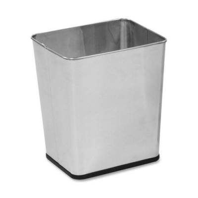 Rubbermaid Commercial Stainless Steel Wastebasket (WB29RSS)