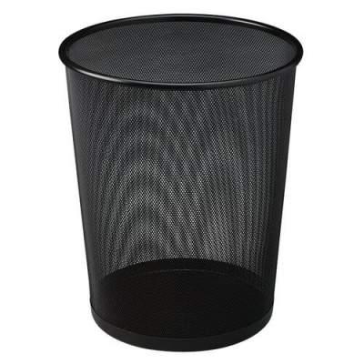 Rubbermaid Commercial Steel Mesh Wastebasket (WMB20BK)
