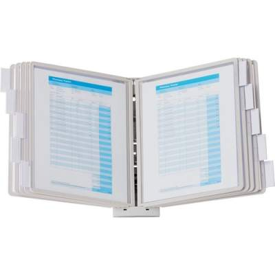 DURABLE SHERPA Wall Mounted Reference Display System (554110)