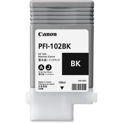 Canon PFI-102BK Original Ink Cartridge (0895B001AA)