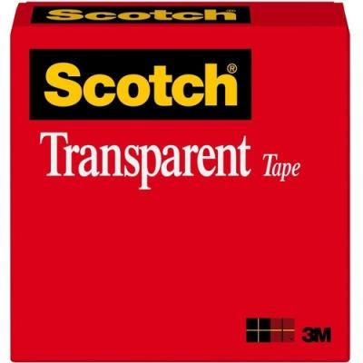 3M Scotch Glossy Transparent Tape (600341296)