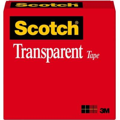 3M Scotch Transparent Glossy Office Tape (60012592)
