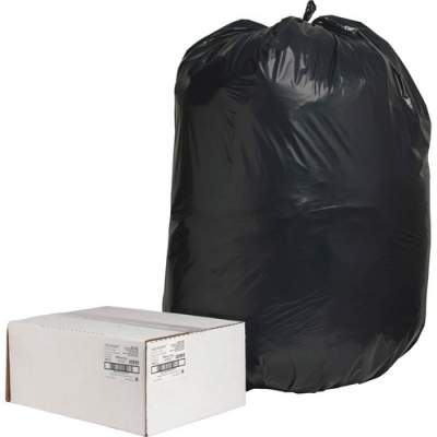 Nature Saver Black Low-density Recycled Can Liners (00995)