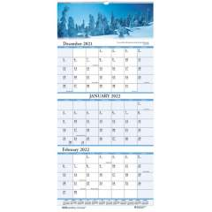 House of Doolittle Scenic 3-month Wall Calendar (3638)