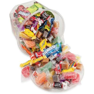 Office Snax Soft & Chewy Mix Assorted Candy Tub (00013)
