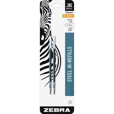 Zebra Pen G-301 JK Gel Stainless Steel Pen Refill (88112)