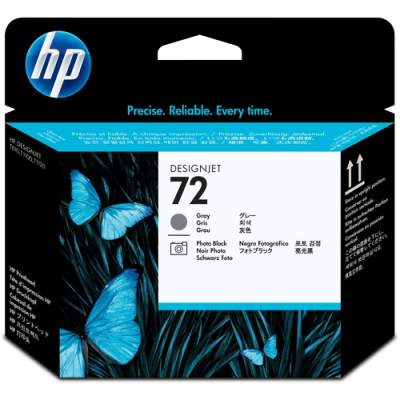 HP 72 Gray and Photo Black DesignJet Printhead (C9380A)