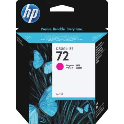 HP 72 69-ml Magenta DesignJet Ink Cartridge (C9399A)