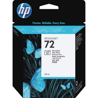 HP 72 69-ml Photo Black DesignJet Ink Cartridge (C9397A)