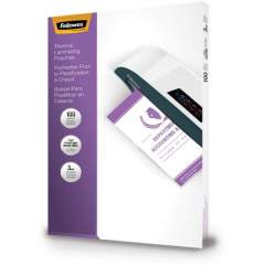 Fellowes Glossy Pouches - 3 mil, Legal, 100 pack (52455)