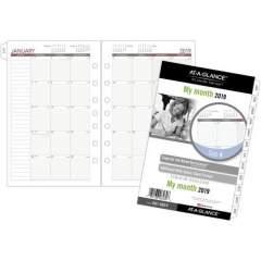 Day Runner Loose-leaf Monthly Planner Refills (061685Y)