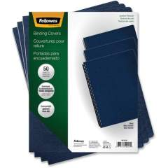 Fellowes Executive Presentation Covers - Oversize, Navy, 50 pack (52145)