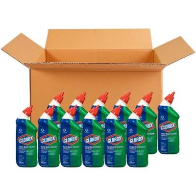 Clorox Commercial Solutions Clorox Toilet Bowl Cleaner with Bleach (00031CT)