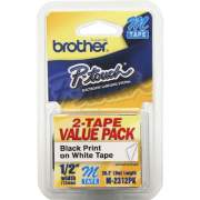 Brother P-touch Nonlaminated M Tape Value Pack (M2312PK)