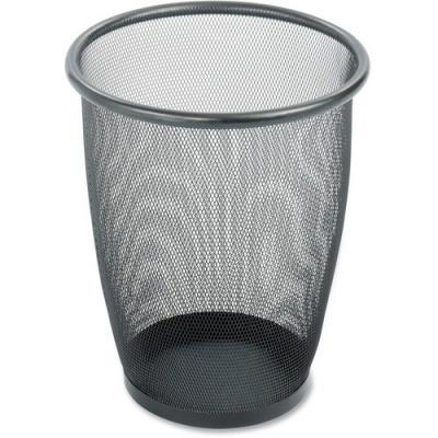 Safco Round Mesh Wastebaskets (9717BL)