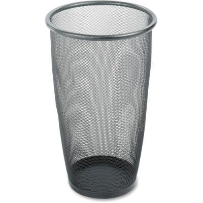 Safco Round Mesh Wastebaskets (9718BL)