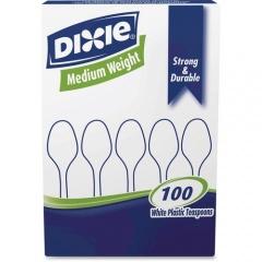 Dixie Medium-weight Disposable Teaspoon Grab-N-Go by GP Pro (TM207)
