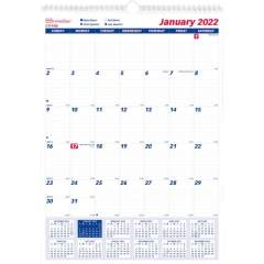 Brownline Ruled Block Monthly Wall Calendar (C171102)