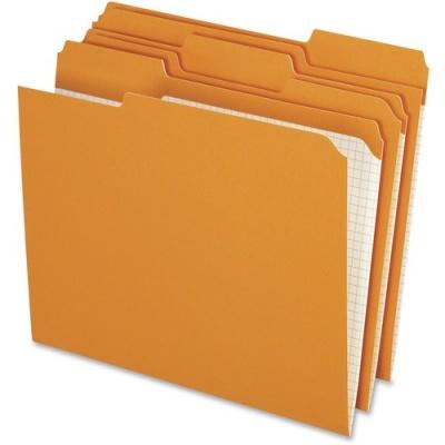 TOPS Pendaflex Reinforced Top Tab Colored File Folder (R15213ORA)