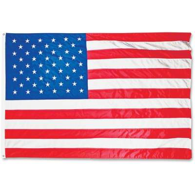 Advantus Heavyweight Nylon Outdoor U.S. Flag (MBE002220)