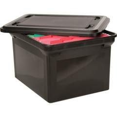 Advantus File Tote with lid (34052)