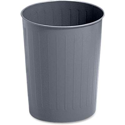 Safco Fire-safe Steel Round Wastebasket (9604CH)