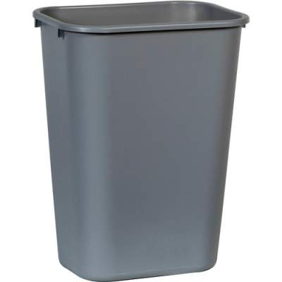 Rubbermaid Commercial Standard Series Wastebaskets (295700GY)