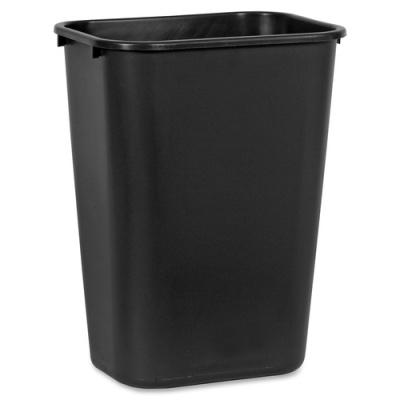 Rubbermaid Commercial Standard Series Wastebaskets (295700BK)