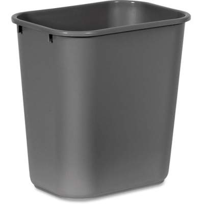 Rubbermaid Commercial Standard Series Wastebaskets (295600GY)