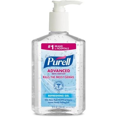 GOJO Purell Instant Hand Sanitizer Pump Dispenser Bottle (965212EA)