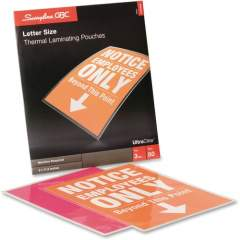 GBC Ultra Clear Thermal Laminating Pouches (3745690)