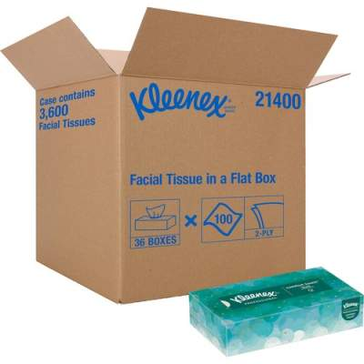 Kleenex Kimberly-Clark Facial Tissue With Pop-Up Dispenser (21400)