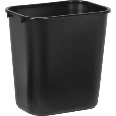 Rubbermaid Commercial Standard Series Wastebaskets (295600BK)