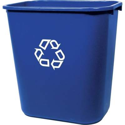 Rubbermaid Commercial Deskside Recycling Container (295673BE)