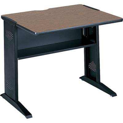 "Safco 36""W Reversible Top Computer Desk (1930)"