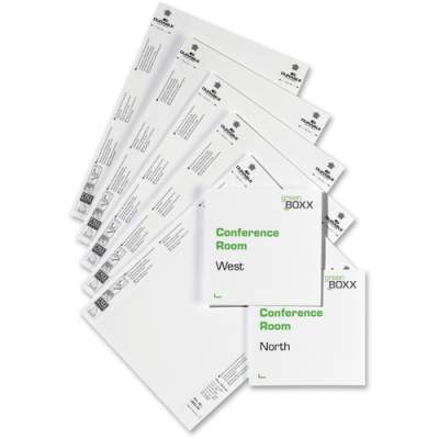 DURABLE Printable Micro-Perforated Refill Inserts for INFO SIGN (485202)
