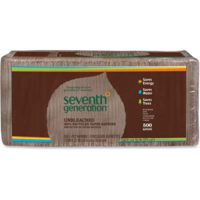 Seventh Generation 100% Recycled Paper Napkins (13705)