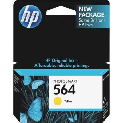 HP 564 Yellow Original Ink Cartridge (CB320WN)